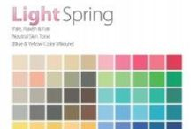 THE Light Spring Color Analysis / This Personal #Color Analysis palatte is pale, flaxen & fair with neutral leaning to warm hue, light value and medium chroma. Contact certified color #analyst Lisa K. Ford at www.inventyourimage.com or 813-766-8375. / by Invent Your Image by Lisa K. Ford