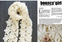 Crochet-Scarfs, Shawls & Cowls / by Kay Kutchenriter