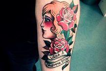 Ink / Pretty tattoo's  / by Krista Lahaye