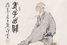 Tao, Lao Tzu, Taoism, Tao Te Ching, Daoism, 道 / Lao Tzu was 6th century BC Chinese philosopher, known as the author of Tao Te Ching.  Traditionally considered the founder of Taoism.   Laozi 老子; Lao Tse, Lao Tu, Lao-Tsu, Laotze, Laosi, Laocius, Daoism, 道, Taoism, Tao Te Ching,  / by Keith Pings