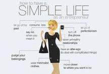 ✔ Keep it Simple / by Pamela Nicholas