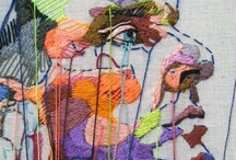 "Contemporary Textile Arts - All Types / Visit also my board ""Classic & Traditional Embroidery"" / by Irit Volgel"