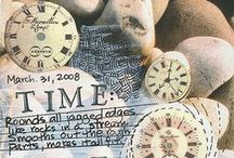 Tick tock / I love clocks and time pieces / by Andrea Gray