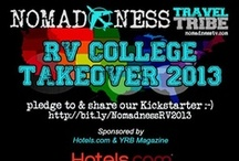 Nomadness RV Tour & College Takeover via Hotels.com & YRB Magazine / The Nomadness Travel Tribe on its initial cross country adventure!!!! / by Jason Francis