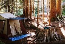 adventure // we're going camping in the great outdoors / by Rachel Dallaire