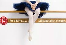 Meet me at the barre / pure barre. / by Kat Osorio
