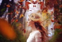 Autumn Crisp / Fall, leaves, bleeding sunsets, apple cider, warm sweaters / by Marie King