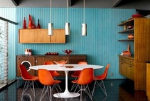 Old faces, new spaces - Vintage furniture in new interiors / by Lisa Harvey