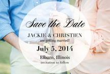 Wedding // 7.05.2014 / Planning for the real deal. #Summer2014 / by Jackie Crynes