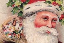 Vintage Santa Claus { Jolly Old St. Nick }  / Vintage Santa Claus ... Saint Nicholas ... Father Christmas ... images! / by V i c k i ❥