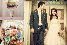 Get Me to the Church on Time / I caved and made a cliche wedding board / by Emily Hornburg