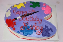 My kids' birthday cakes / by Samantha Ettus