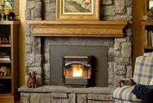 Fireplace Remodel / by Stefanie Pittl