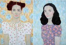 art & illustration *people* / by Elaine Millar