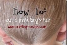 HECK OF A LOT OF HAIR IDEAS / :) / by Elizabeth(Lisa) Meese (Saye)