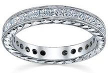 Ladies Wedding Bands / Find the perfect wedding band to pair with your engagement ring. / by deBebians