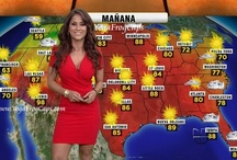Weather Girl / In front of the big green wall... / by Jackie Guerrido