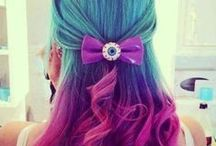 ~COLORFUL HAIR~ / by Bellashoot.com Beauty