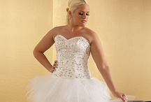 PLUS SIZE WEDDING GOWNS / Some of the most beautiful Plus Size Wedding Looks / by Haute Curvy Woman