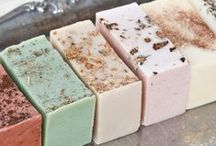 Soapalicious! / Super soft skin and the joy of making soap and using soap...oh yes clean up is a breeze! / by Marcia Packard Kenney