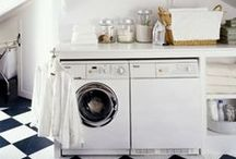 Laundry Room Makeover / Who says the laundry room needs to be all business? Here's some inspiration to transform your laundry room into an inviting atmosphere- making laundry less tedious! / by hhgregg