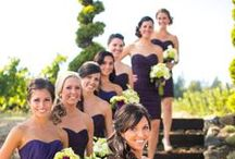 mkc. bridesmaids colors and dresses / bridesmaids dress styles and shades. (lilac and sunflower yellow are the colors) / by Katie Carroll Bowlick