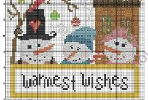 Needlework: Christmas and Winter / by Nan Legler