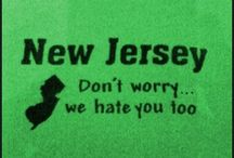 East Coaster Always / N.J. I was born here. I grew up here. It will always be home. There really is nowhere like it in the world. And the people are the nicest, funniest and craziest. Just like me. / by Casey