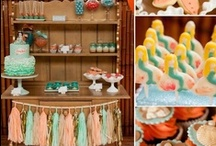 Girl Birthday Party / A board full of ideas for girl themes, food, favors, and games. / by Elena Greer