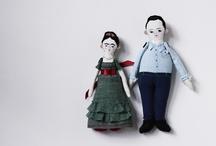Handmade dolls and softies. / by malu