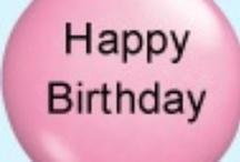 birthdays / by Sandy Stultz James Patrick