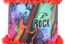 Rockstar party / by World of Pinatas