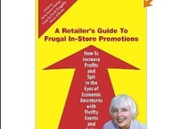 Once a Retailer... / These are books from Carolyn's HowToDoItFrugally series of books for retailers.  And, yeah. Some new retail product, too. (-:  / by Carolyn Howard-Johnson