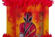 Power Ranger Party / by World of Pinatas