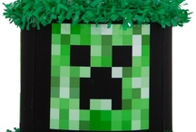 Minecraft party / by World of Pinatas