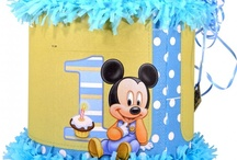 Mickey/Minnie 1st year party / by World of Pinatas