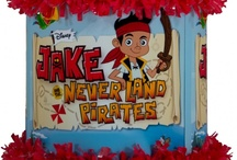 Jake and the Neverland Pirates party / by World of Pinatas