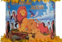 Lion King party / by World of Pinatas