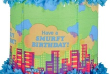 Smurfs party / by World of Pinatas