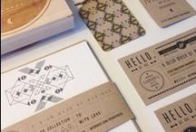 Brand identity inspiration / by Jessica Larsen-Hossain