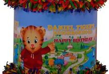 Daniel Tiger's Neighborhood party / by World of Pinatas