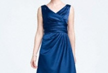 Blue bridesmaid dresses for H / by Rachel Linzer
