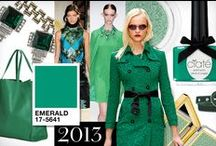 Emerald / Pantone Color of the Year 2013 / by PANTONE COLOR