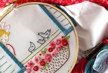 Embroidery / Embroidery / by Jennifer Carroll Calvo