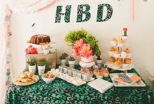PARTIES:we like / I love having people over! For anything. Party decor inspiration and ideas for things to do at a party. / by Small Things are Big Things