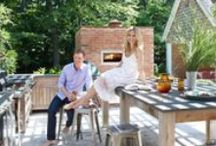 outdoor kitchen / by Molly Peterson