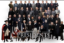 All the PRESIDENT's Men  / Our many leaders, how they may have touched us, disappointed us or made us proud . . . And their homes including the White House under their tenur. / by Granny Pat