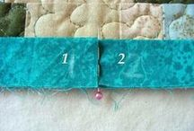 Quilt binding / by Sue Staum