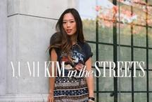 Yumi Kim in the Streets / See how fashionistas are rockin' YUMI KIM! / by YUMI KIM