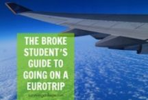 Going Abroad / Ready to spread your wings and fly? We get it. Here's all the travel inspiration you need to take a roadtrip or leap into a semester abroad! / by Surviving College
